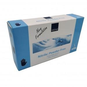Jednorázové rukavice nitrilové nepudrované Abena - 100 ks