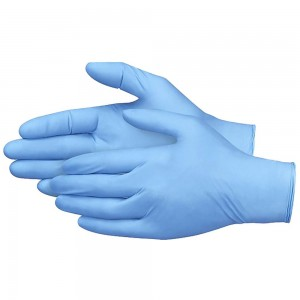 Jednorázové rukavice vinylové nepudrované HYBRID+ - 100 ks