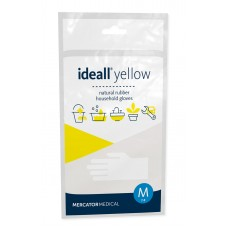 Úklidové rukavice Ideall Yellow