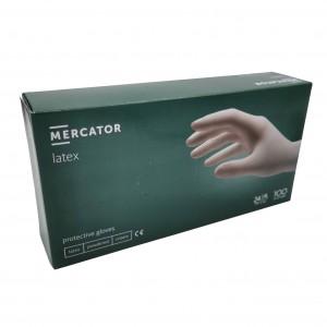 Jednorázové rukavice latexové pudrované Protective - 100 ks