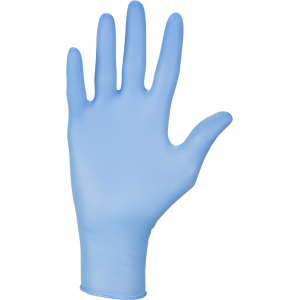Jednorázové rukavice nitrilové nepudrované NITRYLEX PF Classic modré - 200 ks