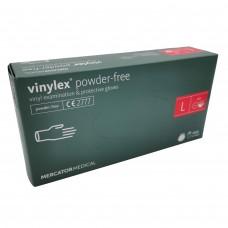 Jednorázové rukavice vinylové VINYLEX nepudrované - 100 ks