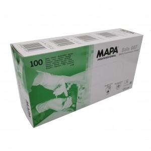 Jednorázové rukavice nitrilové nepudrované MAPA SOLO 997 - 100 ks