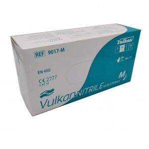 Jednorázové nitrilové rukavice nepudrované Vulkan - 200 ks